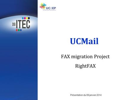 FAX migration Project RightFAX
