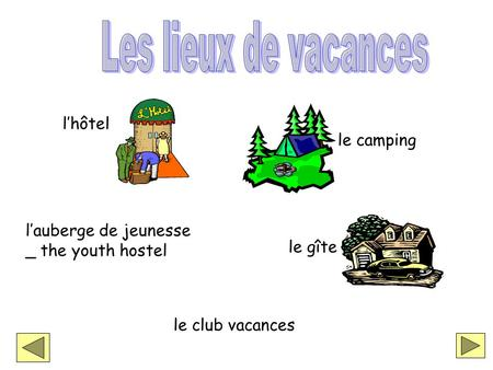 Lauberge de jeunesse _ the youth hostel lhôtel le camping le gîte le club vacances.