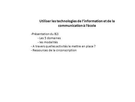 d233fi technologique en maternelle ppt t233l233charger