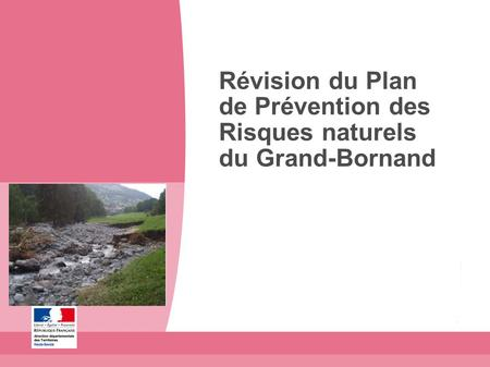 R vision du plan de pr vention des risques ppr naturels for Plan de prevention des risques entreprises exterieures