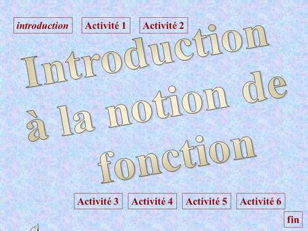 Introduction à la notion de fonction