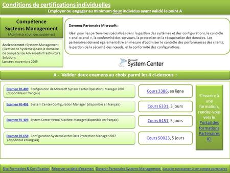 Examen 70-403Examen 70-403: System Center Virtual Machine Manager (disponible en français) Examen 70-403Examen 70-403: System Center Virtual Machine Manager.