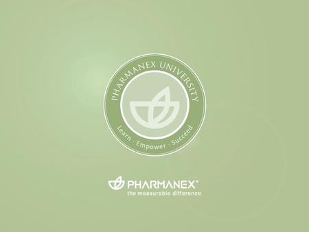 Pharmanex University EXITENTER. Un mélange exclusif de g c et de lipocarotènes TM G3.