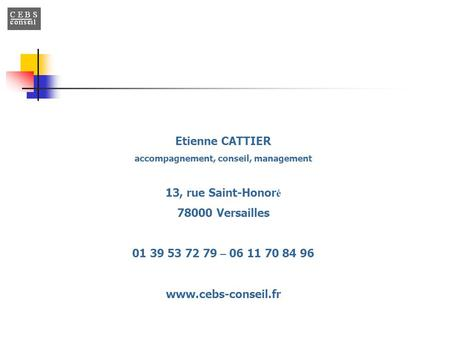 accompagnement, conseil, management