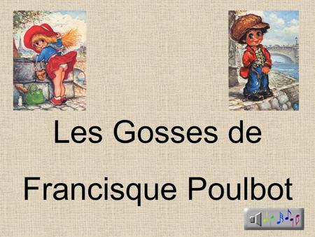 Les Gosses de Francisque Poulbot.