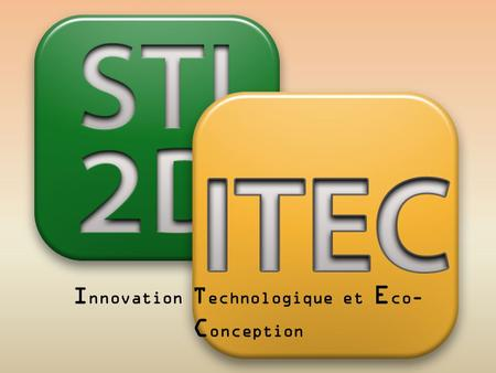 Innovation Technologique et Eco-Conception