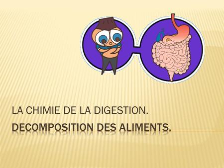 DECOMPOSITION DES ALIMENTS.