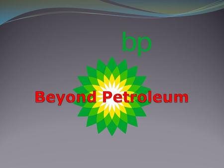Beyond Petroleum.