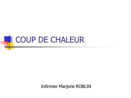 Dr danielle tartary anesth siste r animateur chbm site de - Coup de chaleur definition ...