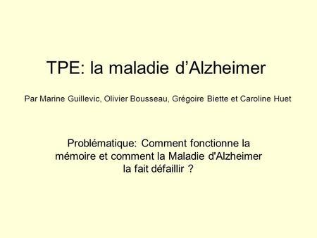 comprendre la maladie d alzheimer pdf