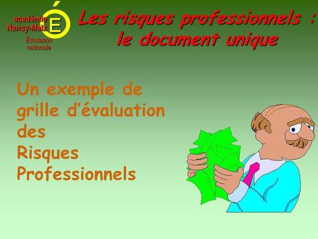 M thodologie document unique octobre ppt video online - Grille d evaluation des risques psychosociaux ...
