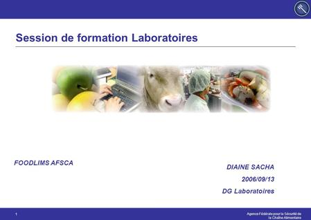 Session de formation Laboratoires