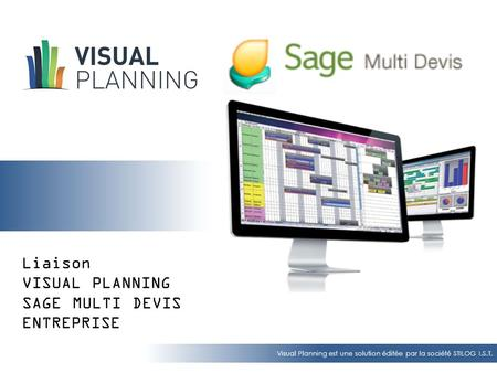 VISUAL PLANNING - SAGE Multi Devis