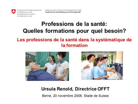 Ursula Renold, Directrice OFFT