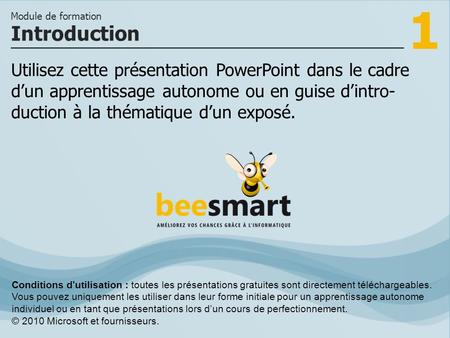 Module de formation Introduction