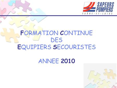 EQUIPIERS SECOURISTES