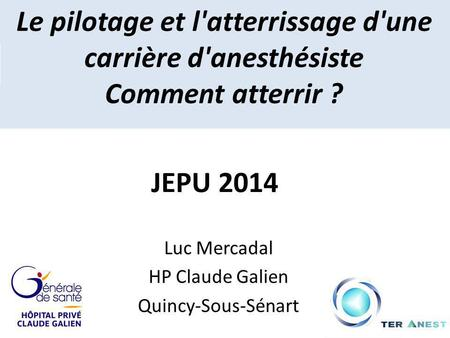 Luc Mercadal HP Claude Galien Quincy-Sous-Sénart