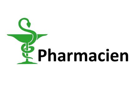 Pharmacien. La formation Formation Bac scientifique.