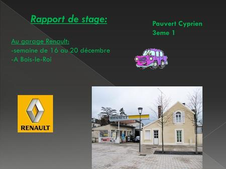 Rapport de stage cabinet du docteur nicolas v t rinaire - Rapport de stage 3eme cabinet medical ...