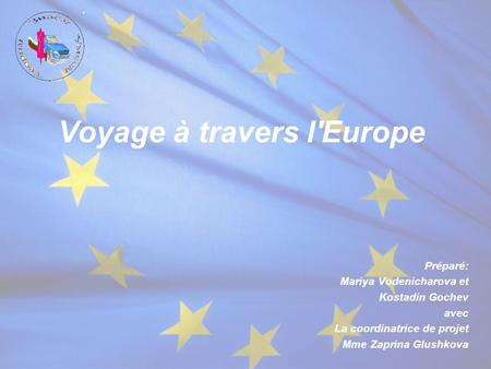 Voyage à travers l'Europe