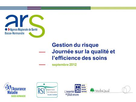 Rencontres qualite efficience
