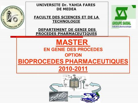 BIOPROCEDES PHARMACEUTIQUES