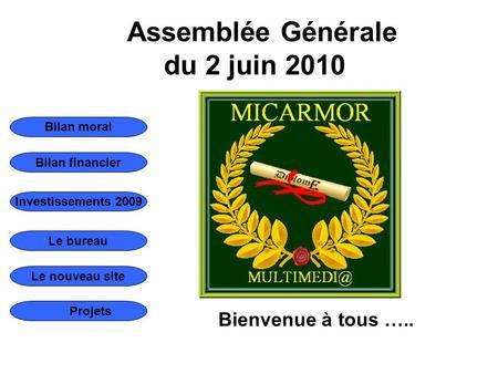 Assembl e g n rale annuelle 19 mars h00accueil des - Assemblee generale association renouvellement bureau ...