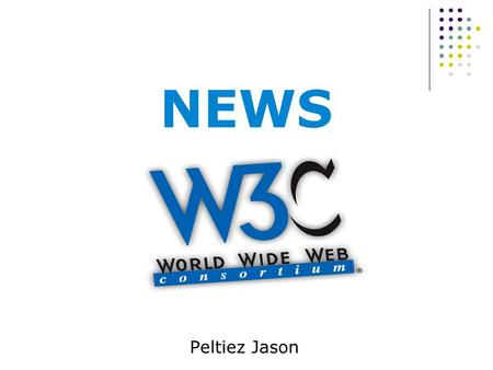 NEWS Peltiez Jason. Web Speech API franchit un nouveau cap  Publication d'un futur standard par le groupe de travail Web Speech API du W3C  API JavaScript.
