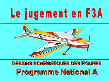 DESSINS SCHEMATIQUES DES FIGURES Programme National A DESSINS SCHEMATIQUES DES FIGURES Programme National A.