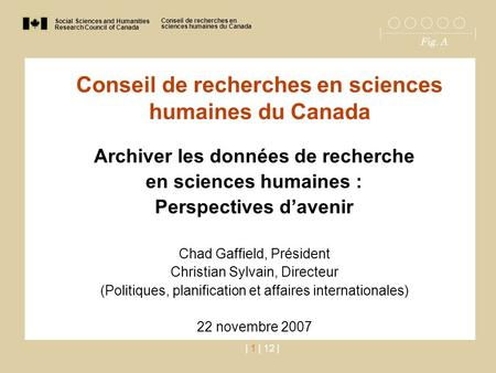 Social Sciences and Humanities Research Council of Canada Conseil de recherches en sciences humaines du Canada Fig. A | 1 | 12 | Conseil de recherches.