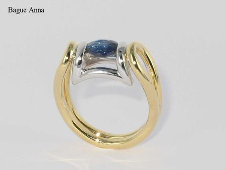 Bague Anna. Bague Anna, or jaune Bague Anna, or jaune, or blanc.