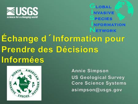U.S. Department of the Interior U.S. Geological Survey.