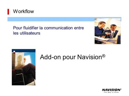 Add-on pour Navision® Workflow
