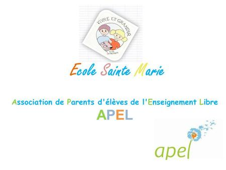Association de Parents d'élèves de l'Enseignement Libre APEL