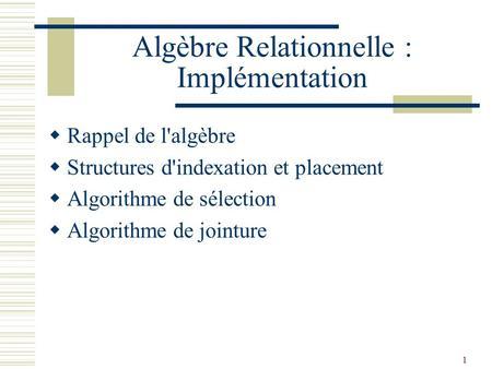 Informatique appliquée à la gestion Bases de données www ...