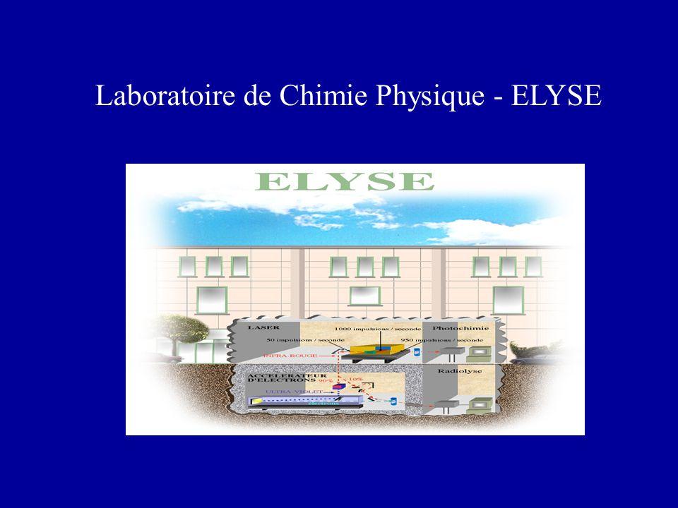 ELYSE : 3 opérations de recherche - Photolyse et radiolyse en milieu condensé, Mehran MOSTAFAVI - Arc en Ciel, Christophe JOUVET - LOLITA, Fabienne MEROLA
