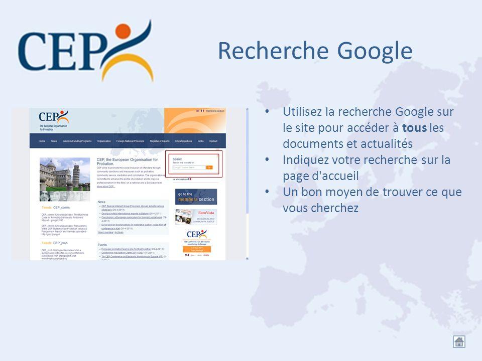 Recherche Google Utilisez la recherche Google sur le site pour accéder à tous les documents et actualités.