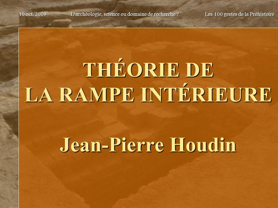 THÉORIE DE LA RAMPE INTÉRIEURE Jean-Pierre Houdin