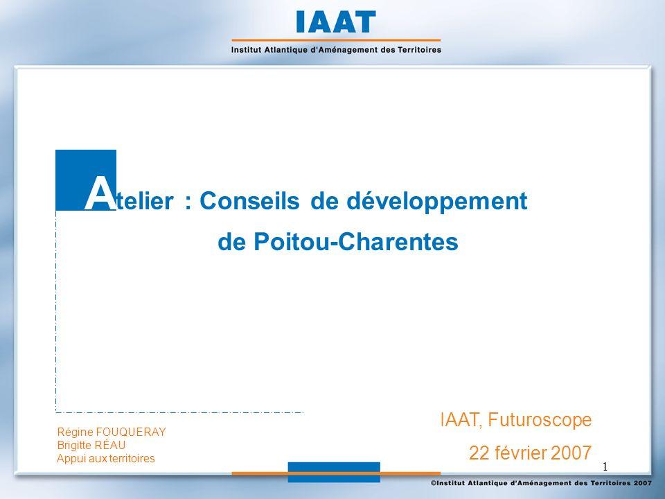 Atelier : Conseils de développement
