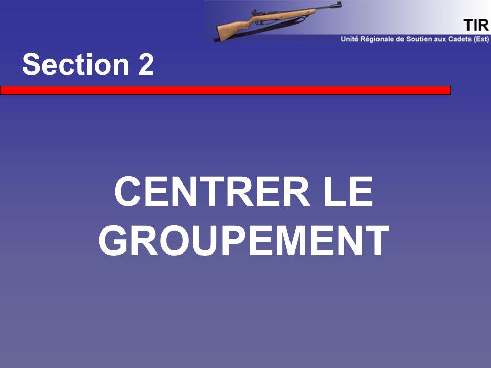 Section 2 CENTRER LE GROUPEMENT