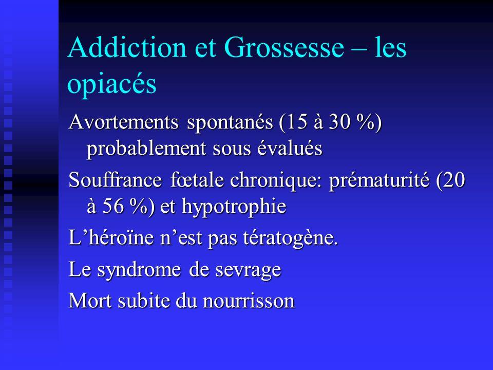 Addiction et Grossesse – les opiacés