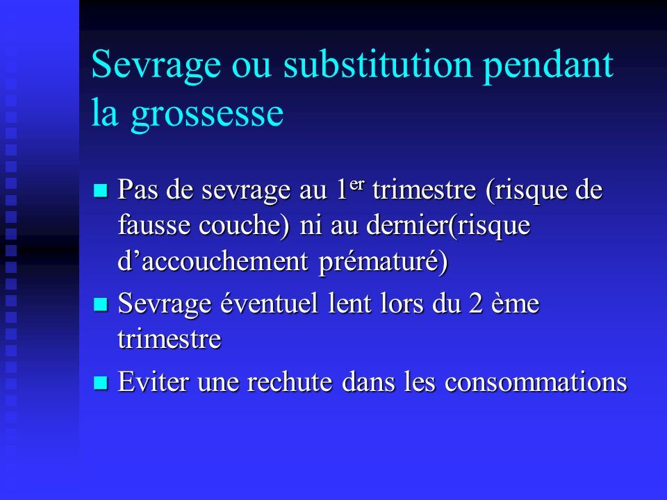 Addiction et grossesse ppt video online t l charger - Fausse couche premiere grossesse ...