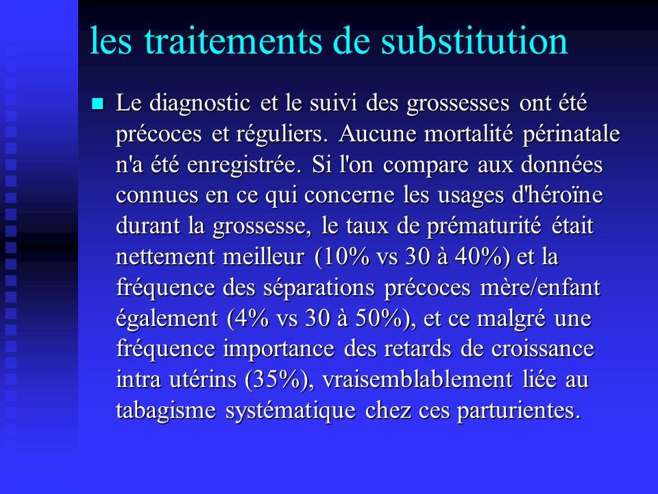 les traitements de substitution