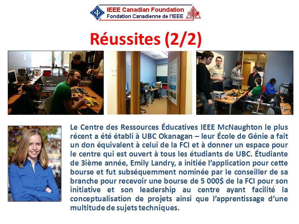 Réussites (2/2)