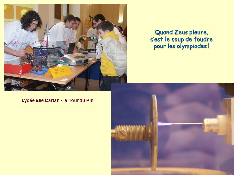 Lycée Elie Cartan - la Tour du Pin