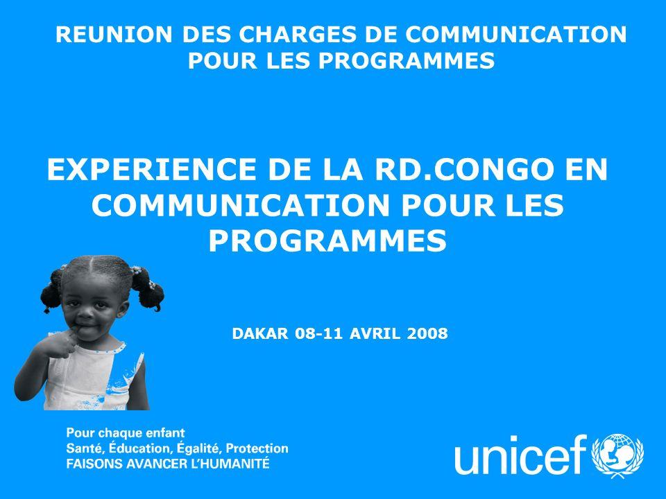 REUNION DES CHARGES DE COMMUNICATION POUR LES PROGRAMMES