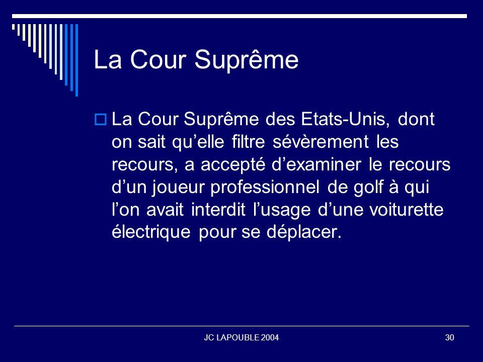La Cour Suprême