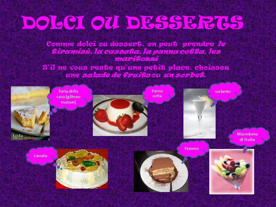 Torta della casa (gâteau maison)