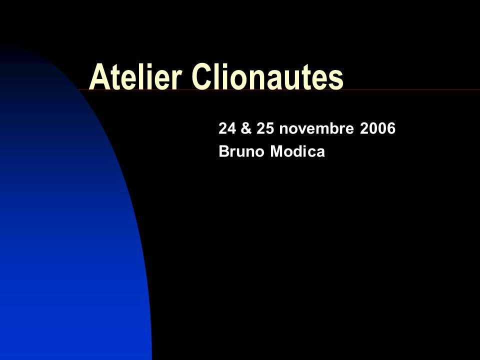 24 & 25 novembre 2006 Bruno Modica