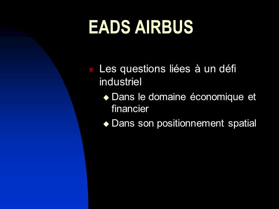 EADS AIRBUS Les questions liées à un défi industriel